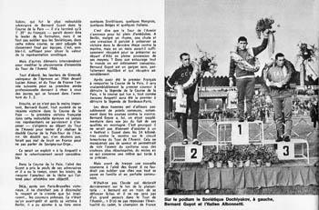 Friedensfahrt details 1966 for Bernard werber le miroir de cassandre